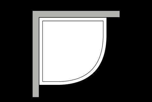 Quart de rond, d'angle