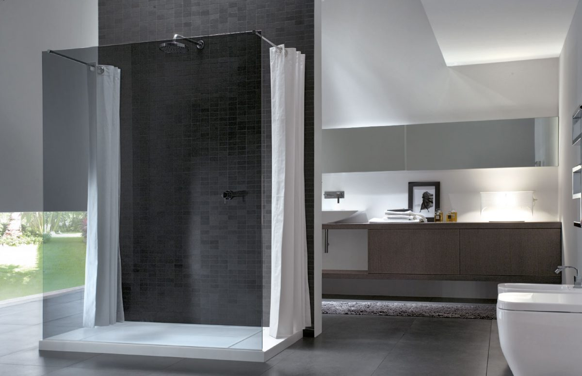 walk in cabine de douche sans profil s disenia. Black Bedroom Furniture Sets. Home Design Ideas