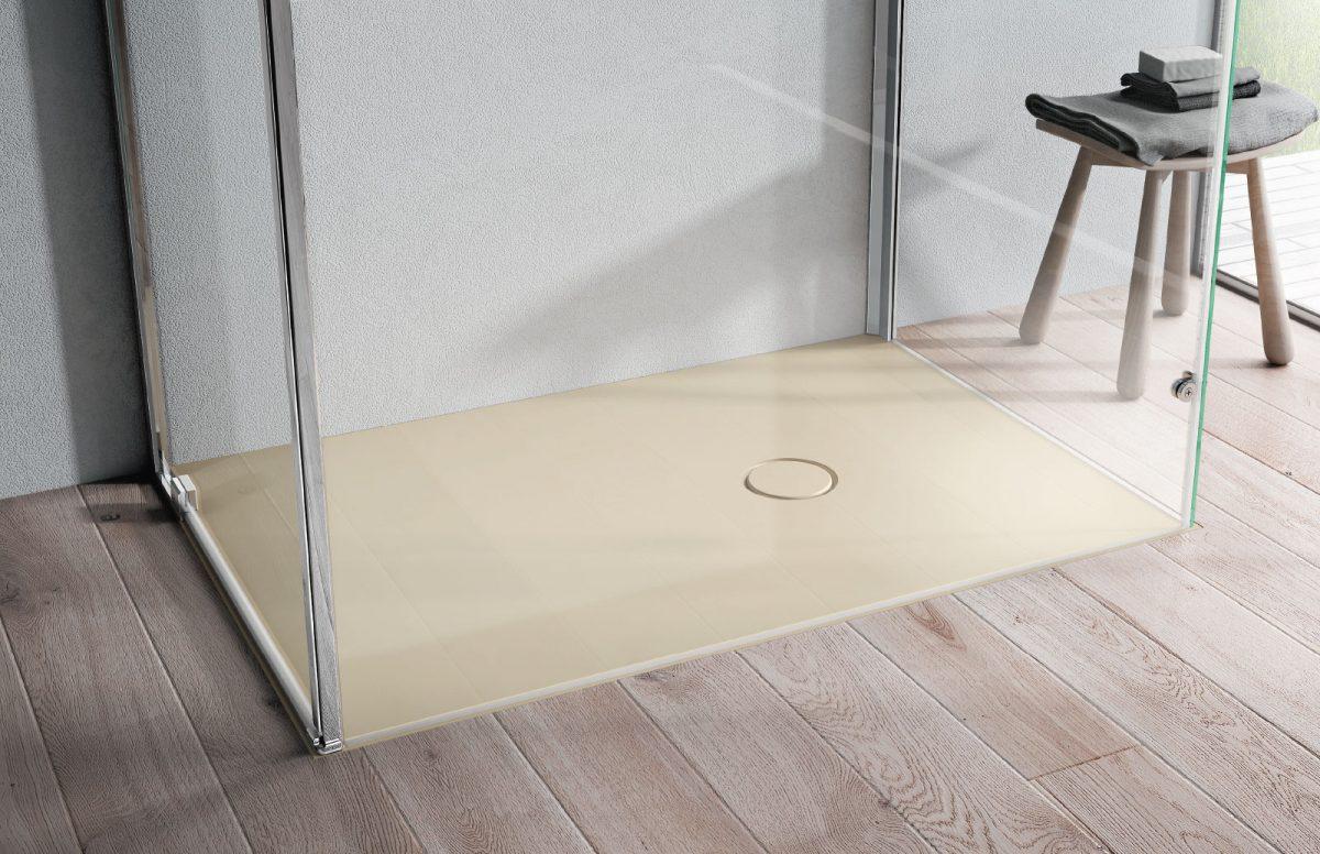 onda receveur de douche sur mesure en aquatek disenia. Black Bedroom Furniture Sets. Home Design Ideas