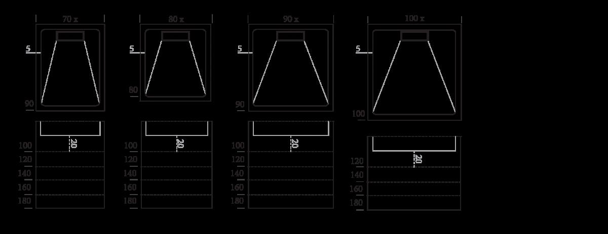 Dimensions Linea
