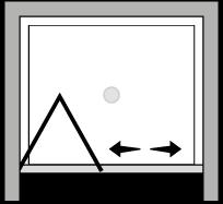 LKSF : Porte pliante (en niche)