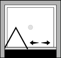 OMSFNI : Porte pliante (en niche)